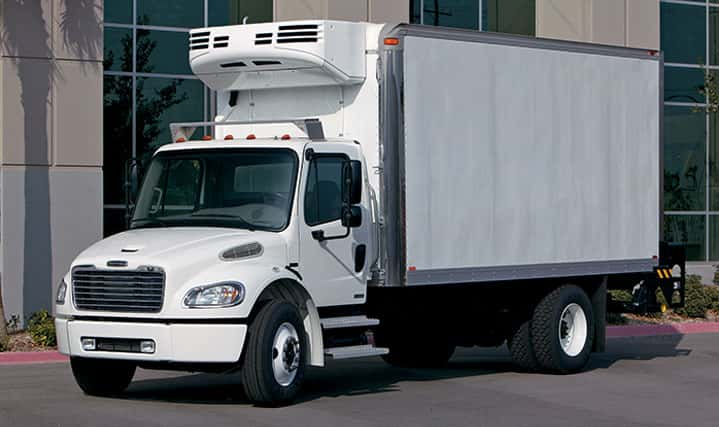 Freightliner Camiones con carga refrigerada